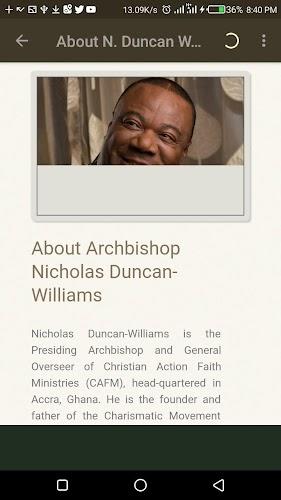 Archbishop Nicholas Duncan - Williams Sermons APK | APKPure ai