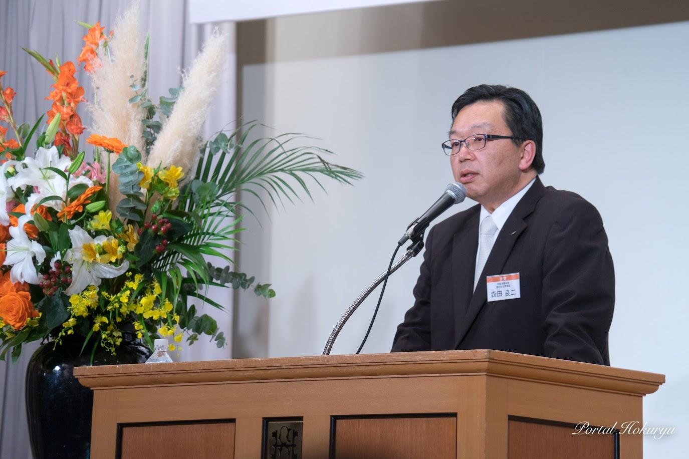 北海道農政部食の安全推進監・森田良二 氏