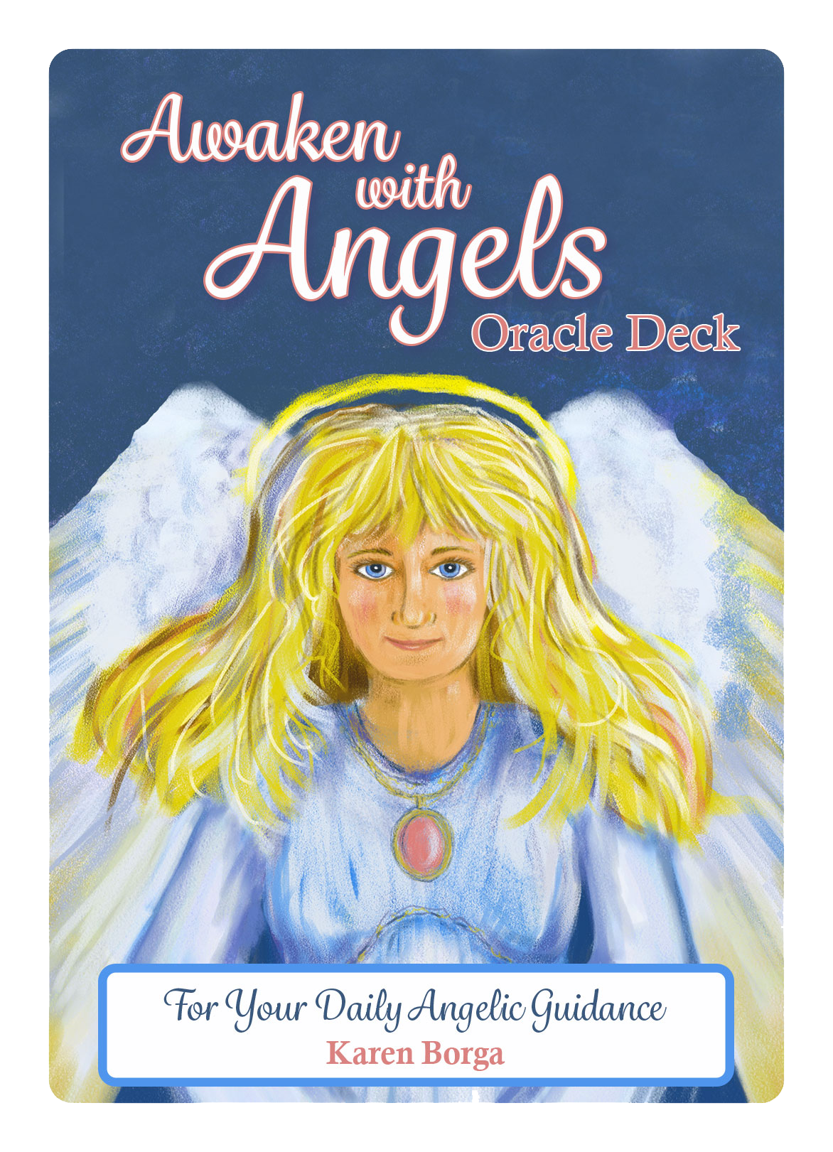 Daily Angel Oracle Card Celebration From The Guardian: Daily Inspirational Messages