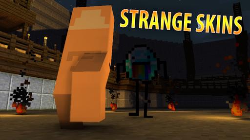 Strange Skins Minecraft PE