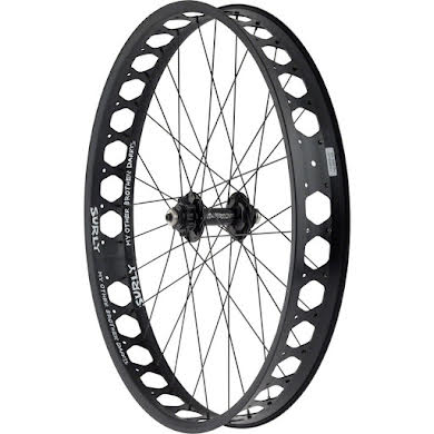 """Quality Wheels Front Pugsley Wheel 26"""" Surly Ultra New QR x 135mm Surly Other Brother Darryl Tubeless 17.5mm O"""