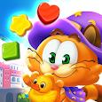 Magic Cat Match : Swipe & Blast Puzzle icon