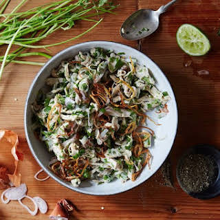 Burmese Chicken Salad.
