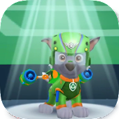 Paw Puppy Superhero Patrol Games