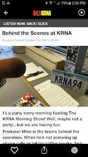 94.1 KRNA - Cedar Rapids Classic Rock Radio - náhled