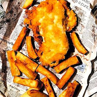 Heston Blumenthal's Beer & Vodka Battered Fish & Chips.