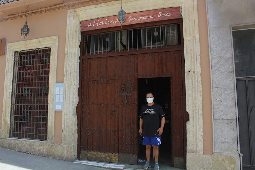 Aljaima, gastronomía tapas, ubicado en calle Jovellanos y que abrirá en próximos días.