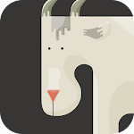 Goat on the Cliff Icon