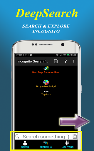 Incognito Search for Instagram 2.67 screenshots 5