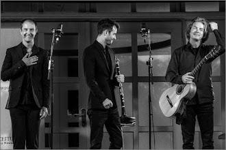 Photo: David Orlowsky Trio,  Jens-Uwe Popp, Gitarre Florian Dohrmann, Kontrabass  Festspiele: https://goo.gl/YJ8fLK