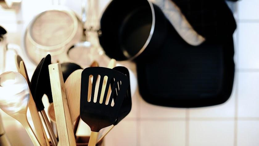 Utensilios de cocina.