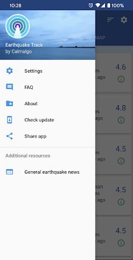 Earthquake Track screenshot 5