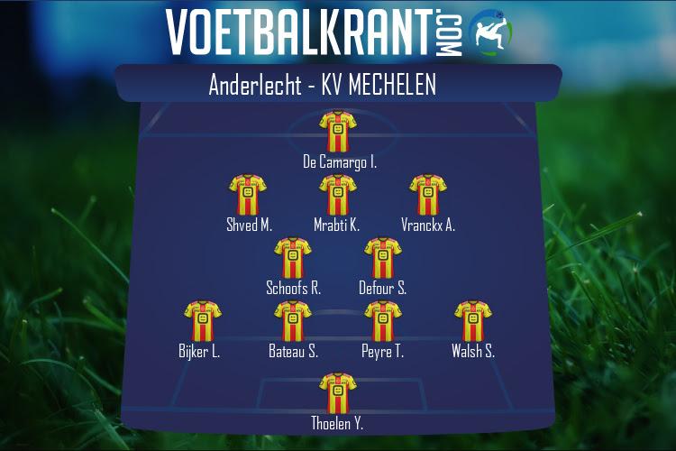 KV Mechelen (Anderlecht - KV Mechelen)