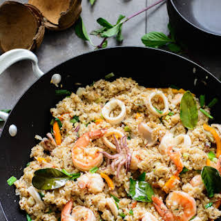 Coconut Seafood Fried Rice.