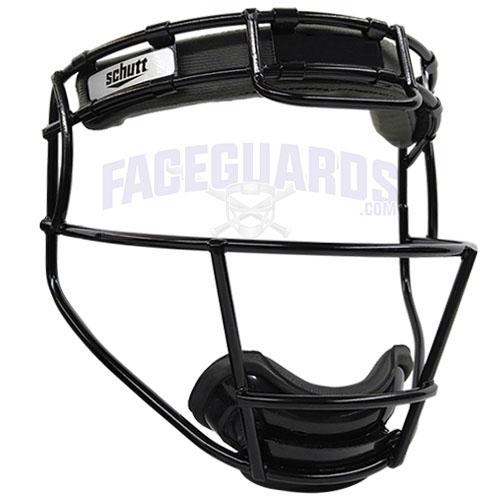 Schutt Black Solid Color Softball Facemask