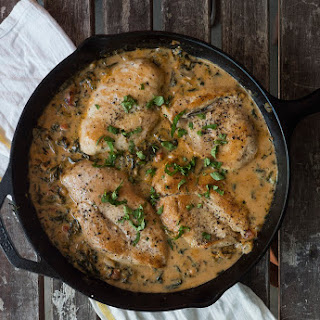 Spinach Chicken Alfredo