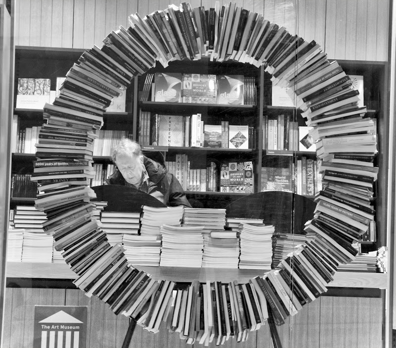 la cornice di libri di mabelle