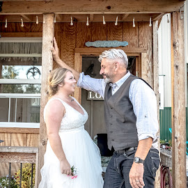 by Jackie Eatinger - Wedding Bride & Groom