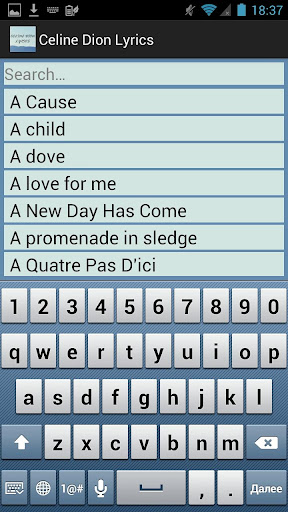 Celine dion texts