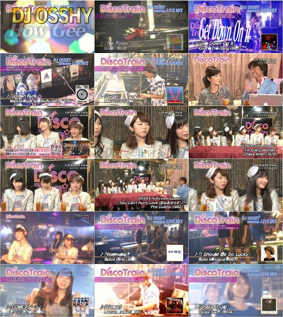 (TV-Variety)(720p) AKB48 – Disco Train 150830