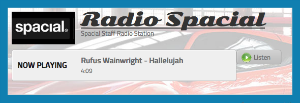 Web widgets on Radio Spacial