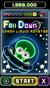 FALL DOWN Crazy Liquid Monster screenshot 0