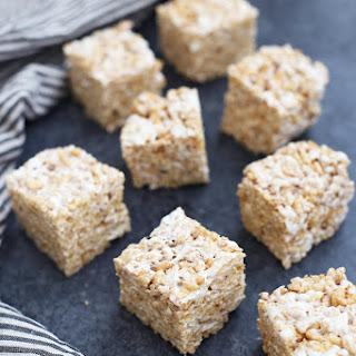 Toasted Marshmallow Krispies Treats (GF, DF, V) Recipe