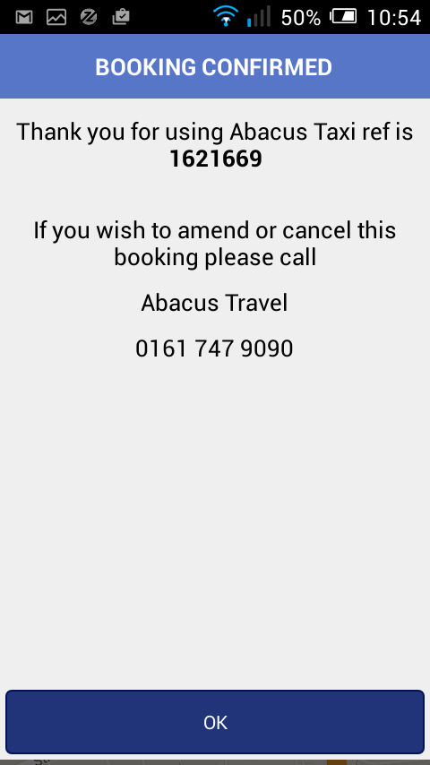 Abacus Taxis- screenshot