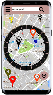 Maps - Compass GPS Navigation & Route Finder App - náhled