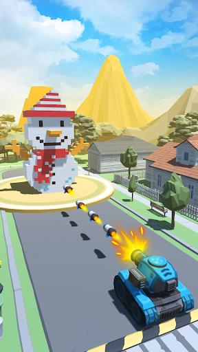 Shoot Balls - Fire & Blast Voxel 1.3.0 screenshots 1
