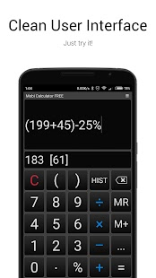 Mobi Calculator FREE- screenshot thumbnail
