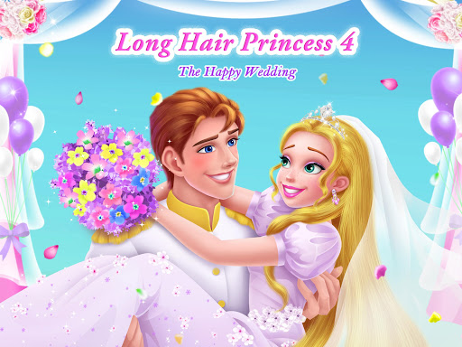 Long Hair Princess 4 - Happy Wedding 1.3 screenshots 1