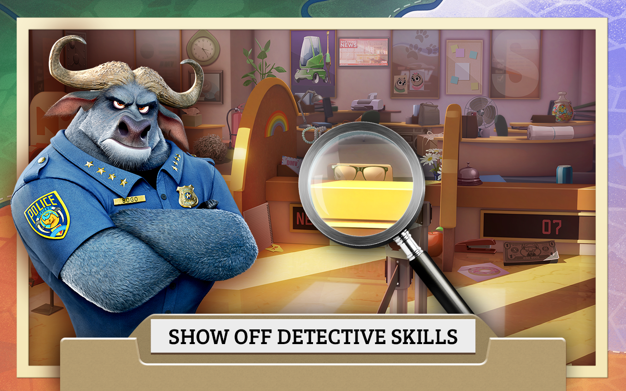 Zootopia Crime Files- screenshot