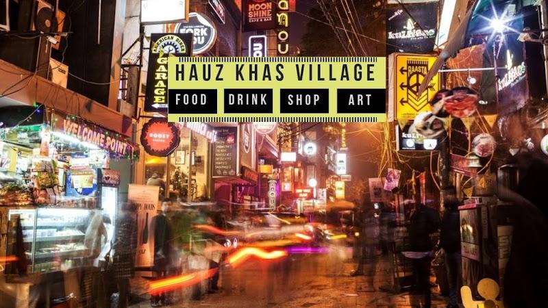 Hauz Khas Village pre-wedding shoot location in Delhi NCR