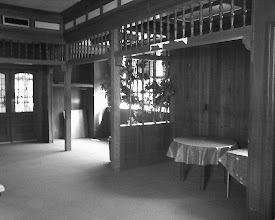 Photo: Space formerly occupied by the English Lounge, Penn Alto Hotel, Altoona, PA.  Photo by Scott Cessna. 2007