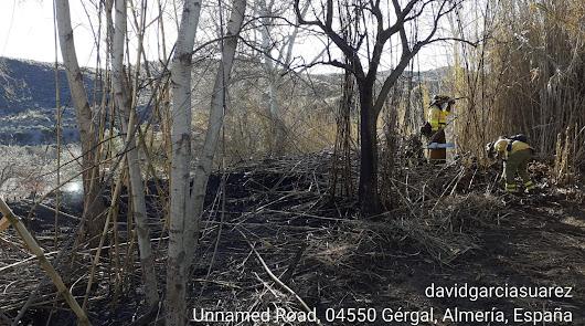 Controlan un incendio declarado en el paraje 'El Paraíso' de Gérgal