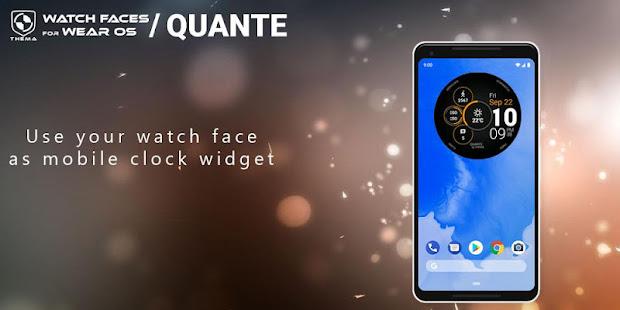Quante Watch Face&Clockウィジェット