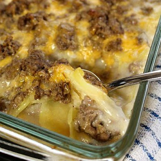 Delicious Hamburger And Potato Casserole