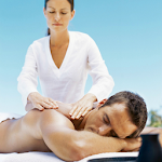 How to Give a Back Massage Icon
