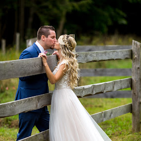 At the Farm by Robert Blair - Wedding Bride & Groom ( bride, groom, belleville, weddings, photographer )