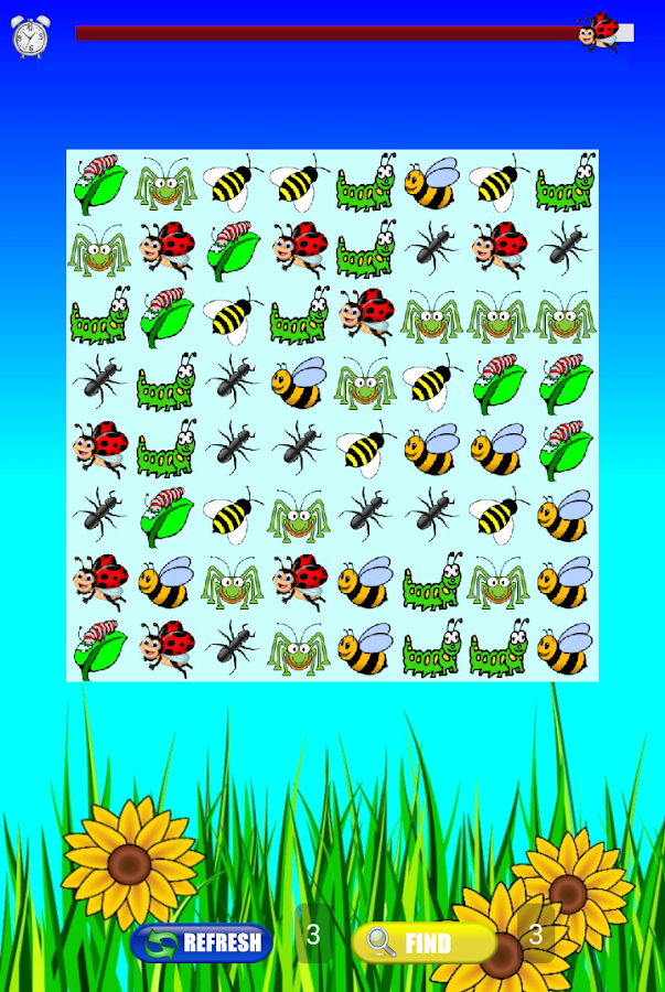 Ladybug and Bee Game - FREE!- screenshot