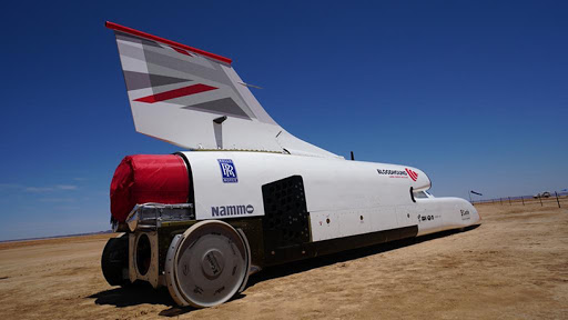The high-speed tests will see the Bloodhound LSR car blast along the Hakskeenpan desert racetrack.