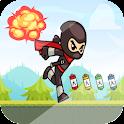 Yoo Ninja Kid Rush Run Free icon