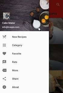 Cake Recipes - náhled