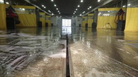 trench drain concrete