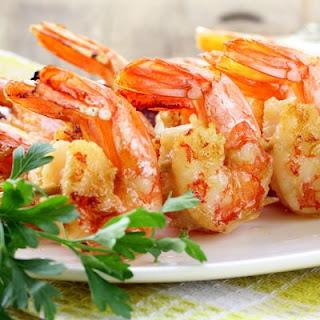 Oriental Shrimp and Scallop Salad
