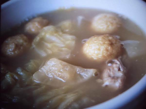 Fish Balls And Cabbage Recipe