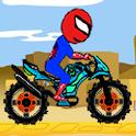Spider man Motorbiker Game icon