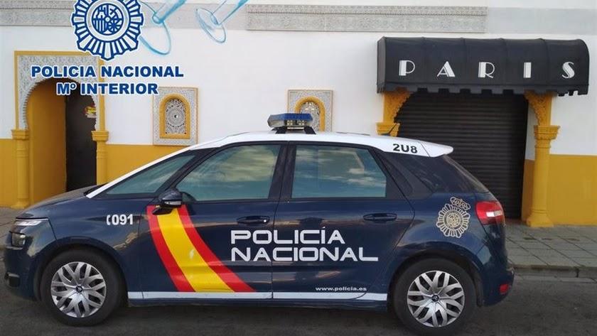 Imagen difundida por la Policía Nacional.