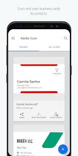Adobe Scan: PDF & Business Card Scanner with OCR Screenshot
